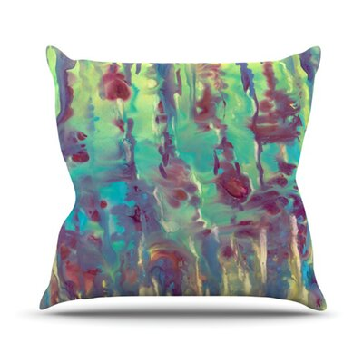 Splash Throw Pillow Size: 26 H x 26 W