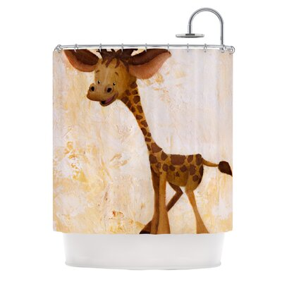 Georgey The Giraffe Shower Curtain