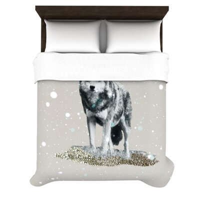 Kess InHouse Wolf Duvet Cover Collection - Size: Queen at Sears.com