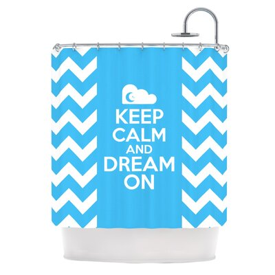 Keep Calm Shower Curtain