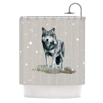 Wolf Shower Curtain