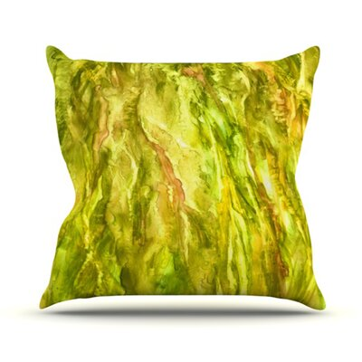 Tropical Delight Throw Pillow Size: 26 H x 26 W