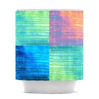 Crayon Batik Shower Curtain