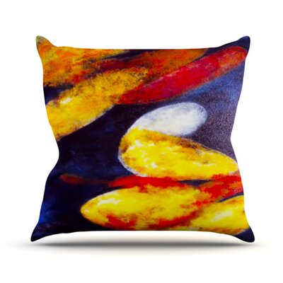Into the Light Throw Pillow Size: 18 H x 18 W