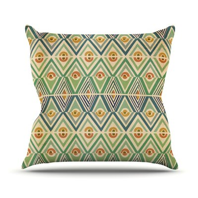 Throw Pillow Size: 18 H x 18 W, Color: Celebration