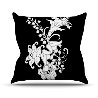 My Garden Throw Pillow Size: 26 H x 26 W