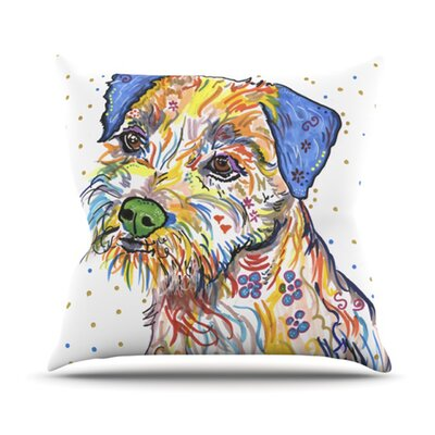 Rory Throw Pillow Size: 18 H x 18 W