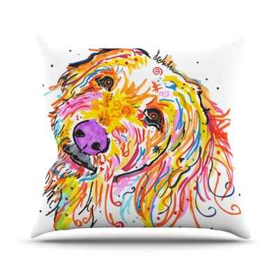 Koda Throw Pillow Size: 18 H x 18 W