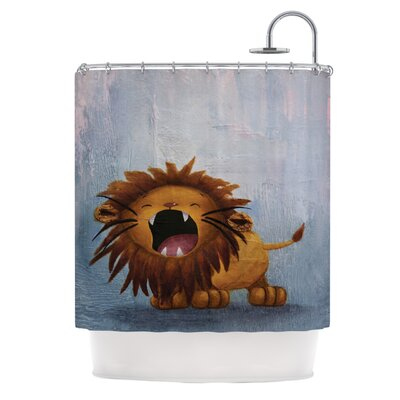 Dandy Lion Shower Curtain