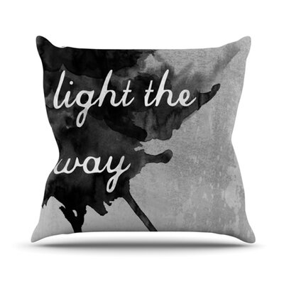 Bridges Throw Pillow Size: 26 H x 26 W