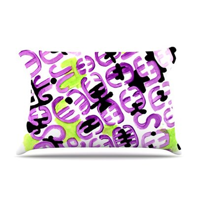 Pillow Case Size: King, Color: Theodoras Mood