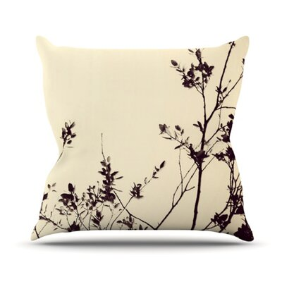 Silhouette Outdoor Throw Pillow Size: 20 H x 20 W x 4 D