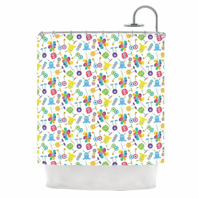 Fun Creatures Shower Curtain