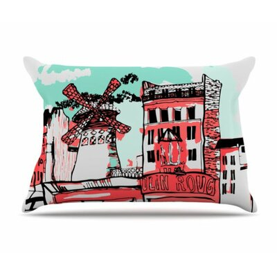 Montmartre Pillowcase Size: Standard