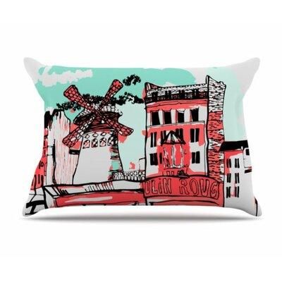 Montmartre Pillowcase Size: King