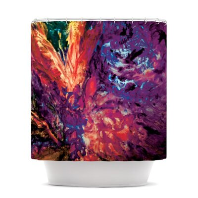 Passion Flowers II Shower Curtain