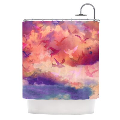 Souffle Sky Shower Curtain