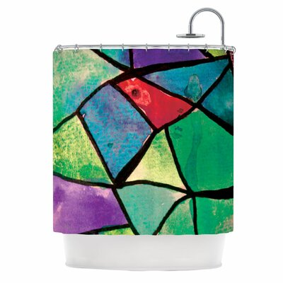 Stain Glass 1 Shower Curtain