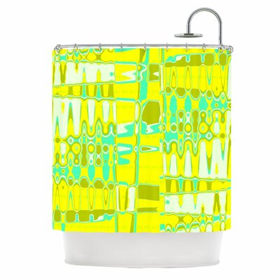 Changing Gears in Sunshine Shower Curtain
