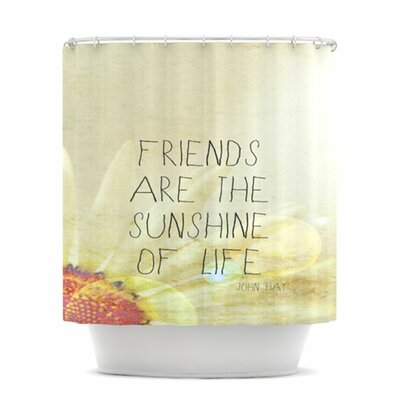 Friends Sunshine Shower Curtain