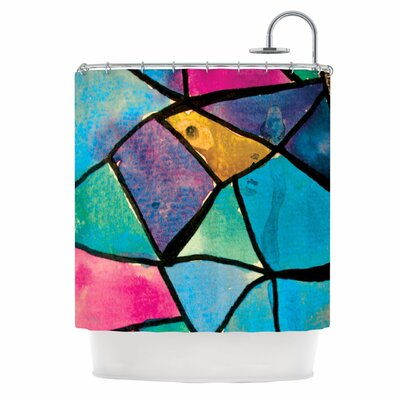 Stain Glass 2 Shower Curtain
