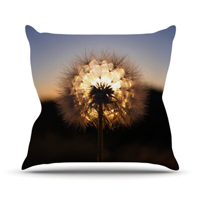 Glow Throw Pillow Size: 26 H x 26 W