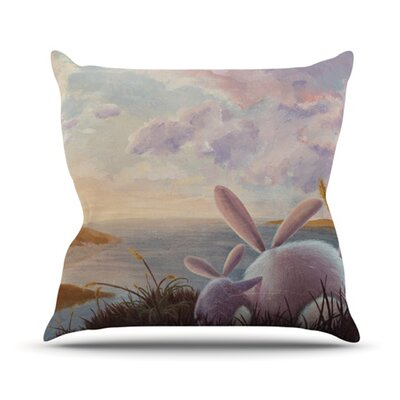A New Perspective Throw Pillow Size: 18 H x 18 W