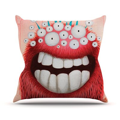 The LookOut Throw Pillow Size: 16 H x 16 W