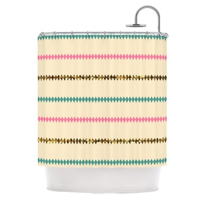 Diamonds Shower Curtain