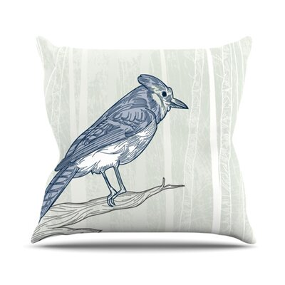 Jay Throw Pillow Size: 18 H x 18 W