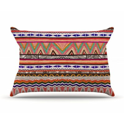 Native Tessellation Pillowcase Size: Standard