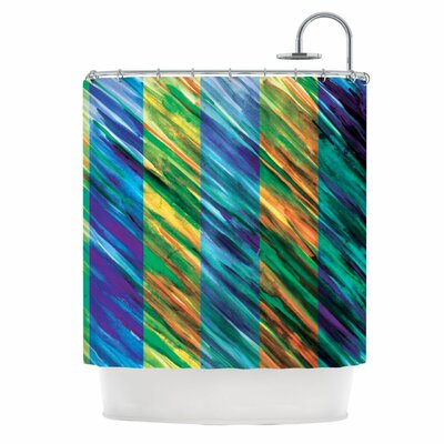 Set Stripes II Shower Curtain