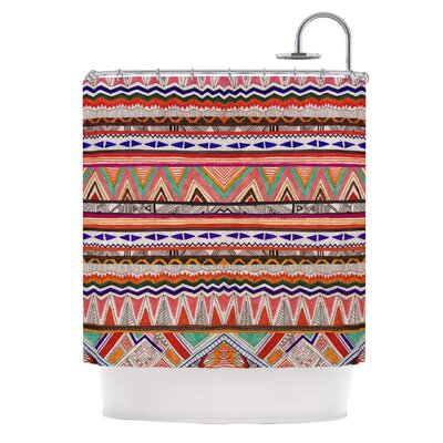 Native Tessellation Shower Curtain