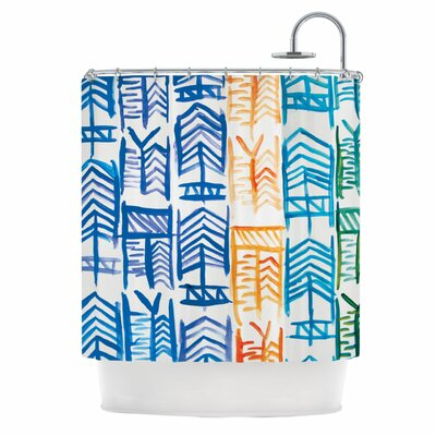 Quiver II Shower Curtain