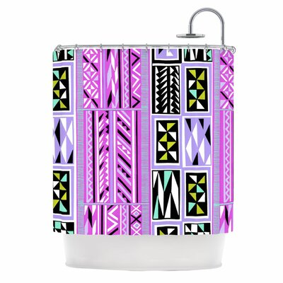 American Blanket Pattern II Shower Curtain