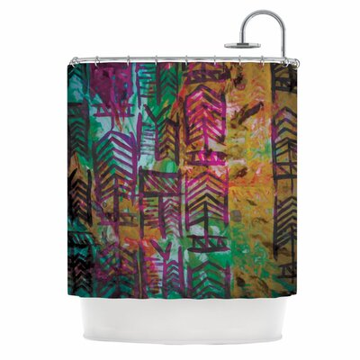 Quiver IV Shower Curtain