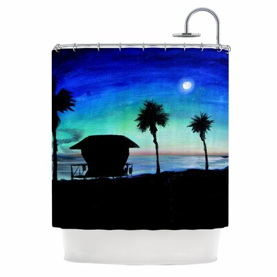 Carlsbad State Beach Shower Curtain