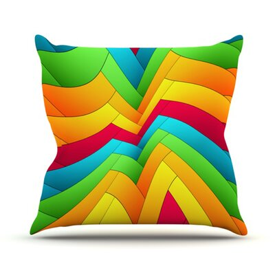 Olympia Throw Pillow Size: 18 H x 18 W