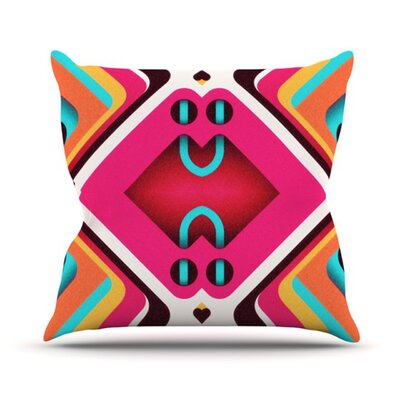 Caviar Throw Pillow Size: 18 H x 18 W