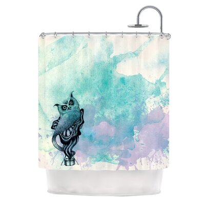 Owl II Shower Curtain