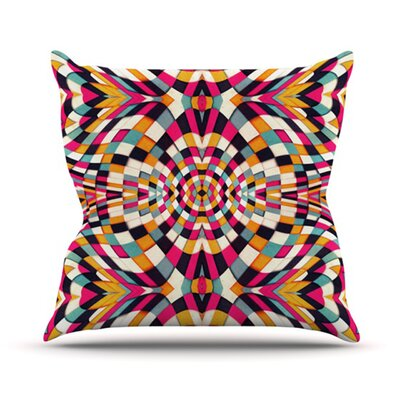 Rebel Ya Throw Pillow Size: 18 H x 18 W