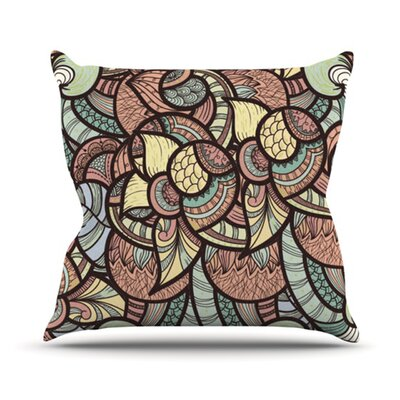 Wild Run Throw Pillow Size: 20 H x 20 W