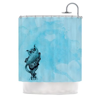 Owl III Shower Curtain