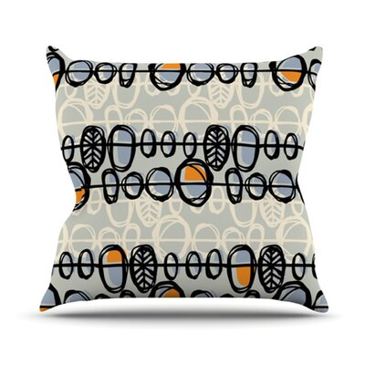 Benin Throw Pillow Size: 18 H x 18 W