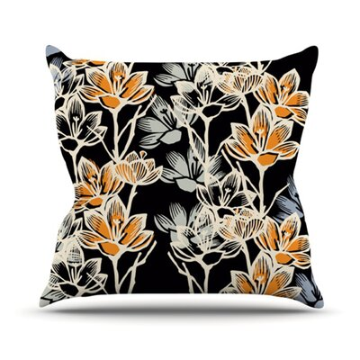 Crocus Throw Pillow Size: 16 H x 16 W