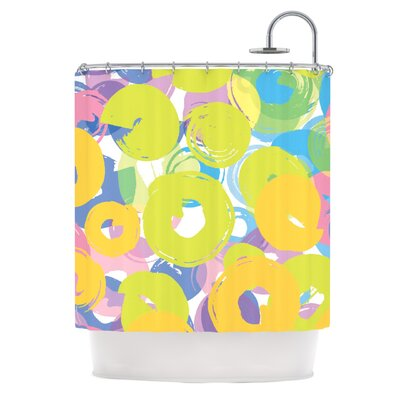 Circle Me Shower Curtain