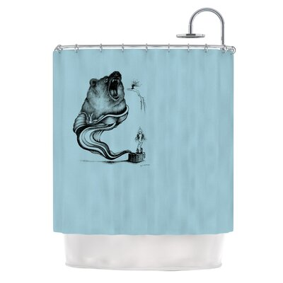 Hot Tub Hunter II Shower Curtain