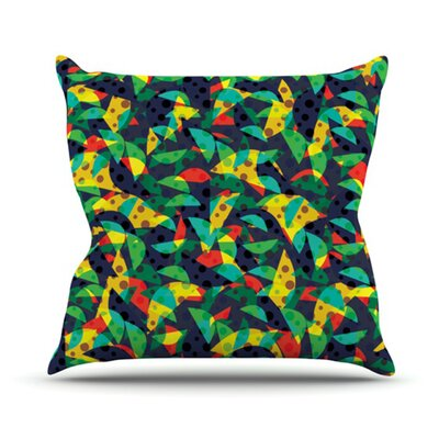 Fruit and Fun Throw Pillow Size: 18 H x 18 W