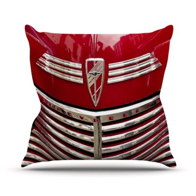 Chevy Throw Pillow Size: 16 H x 16 W