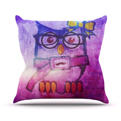Showlyl Throw Pillow Size: 18 H x 18 W